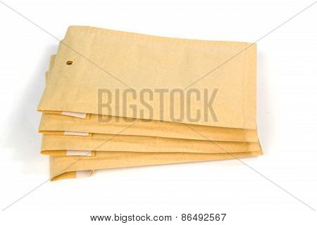 Small Size Bubble Lined Shipping Or Packing Envelopes