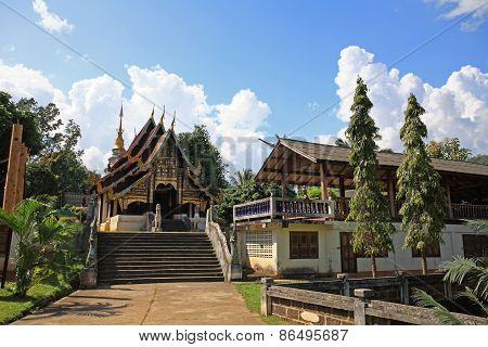 Thai North East Style Temple