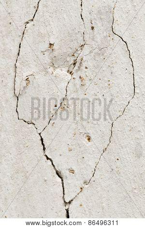 Cracked Stucco - Grunge Background