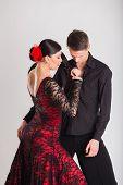 picture of ballroom dancing  - Ballroom dancing - JPG