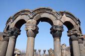 stock photo of armenia  - Ruins of Zvartnots  - JPG