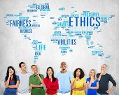 pic of morals  - Ethics Ideals Principles Morals Standards Concept - JPG