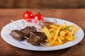 picture of meats  - Skewers - JPG
