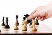 picture of chess piece  - Playing chess  - JPG
