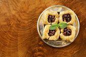 picture of baklava  - Turkish arabic dessert  - JPG