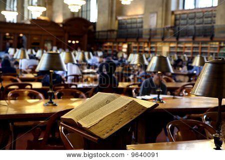 Public Library Interior