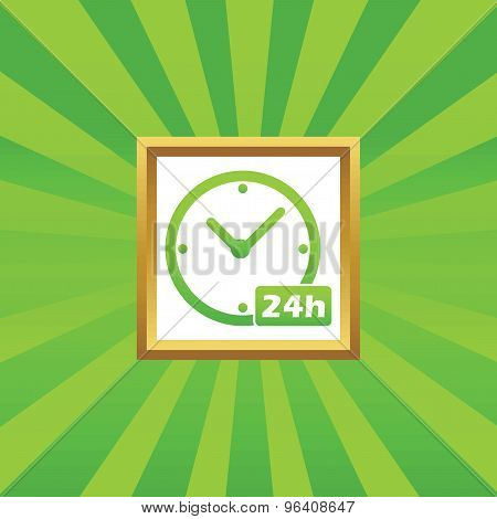 24h workhours picture icon