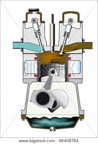 Diesel Exhaust Stroke