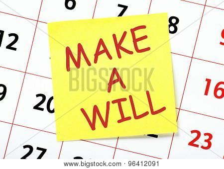 Make a Will Reminder