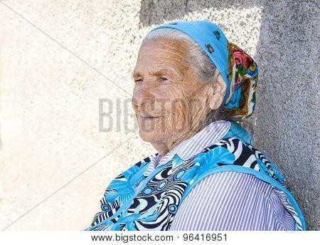 Pensive Grandmother