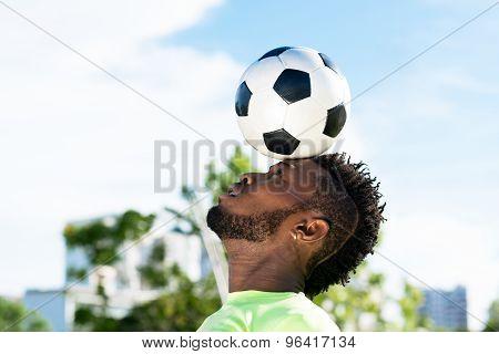 Balancing Soccer Ball
