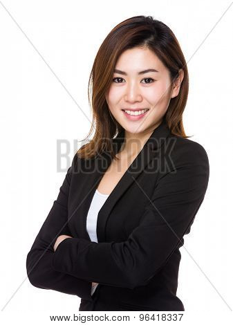 Asain young businesswoman