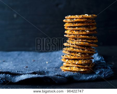 Crackers With Mix Seeds