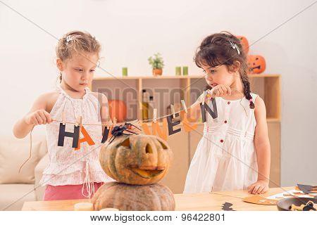 Creating Halloween Decorations