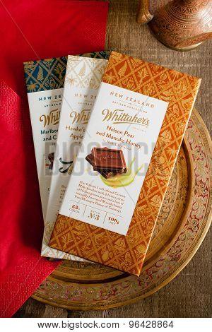 Whittaker's Artisanal Chocolate Range