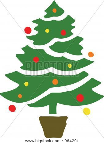 Stylised Christmas Tree 3