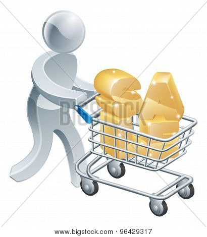 Sale Trolley Person