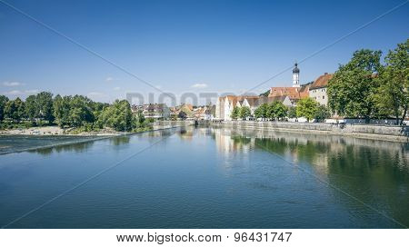An image of the beautiful Landsberg am Lech at Bavaria Germany