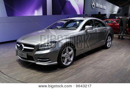 Mercedes Cls 350 At Paris Motor Show