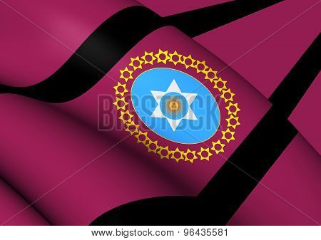 Flag Of Salta Province, Argentina.