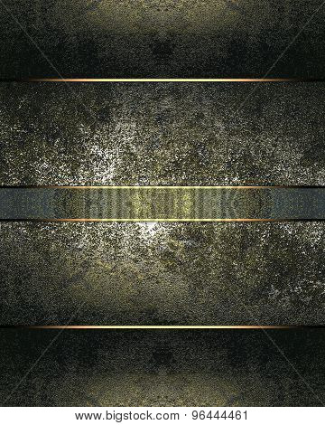 Grunge Background For Design Of The Old Metal Elements. Element For Design. Template For Design.