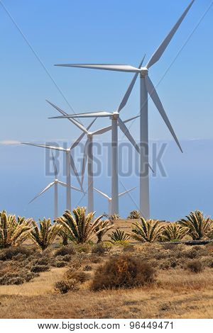 Electric Power Windmills