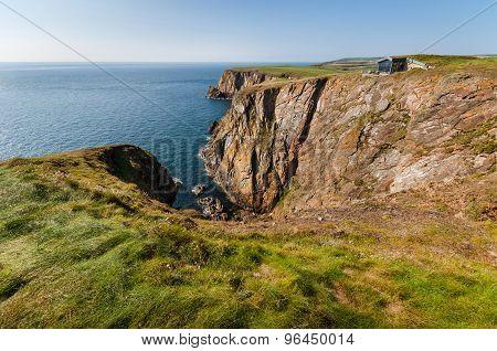 Scottish cliffs