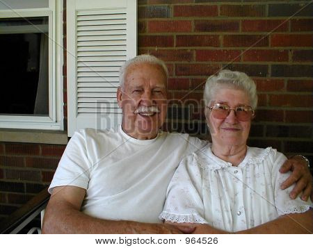 Elderly Married Couple