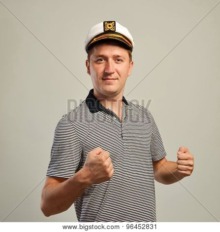 Sailor young man