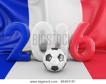 Ball And Flag Of France