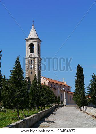 The church of St michael in Murter