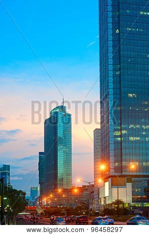 Jakarta Downtown, Indonesia