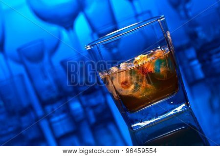 Alcoholic Drink Withl Ice