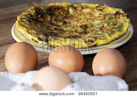Omelette Of Zucchini