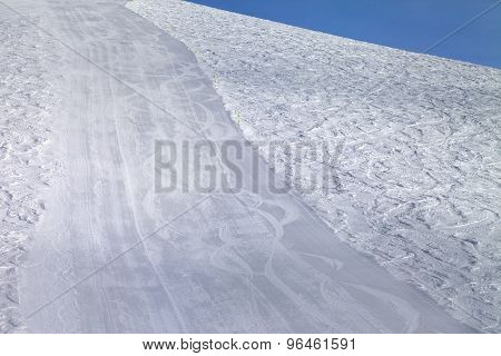 Empty Ski Slope