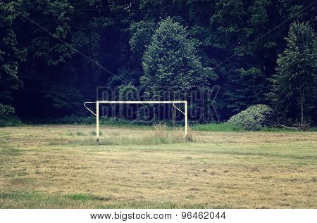 Football goal.