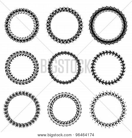 Decorative Circle Frames