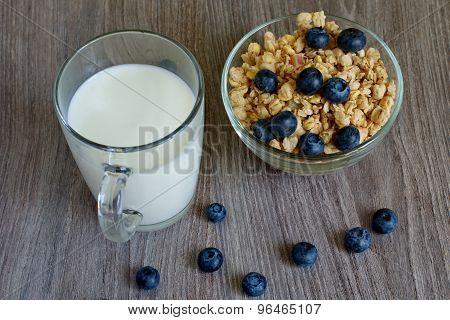 Milk And Cornflakes