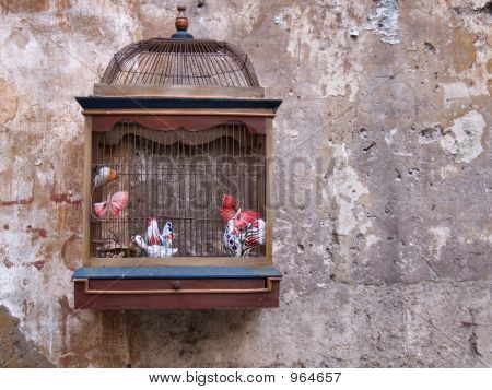 Retro Decoration - Bird Cage