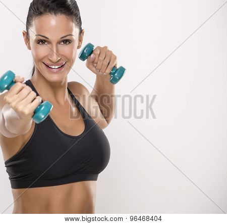 Nice woman, sport and recreation
