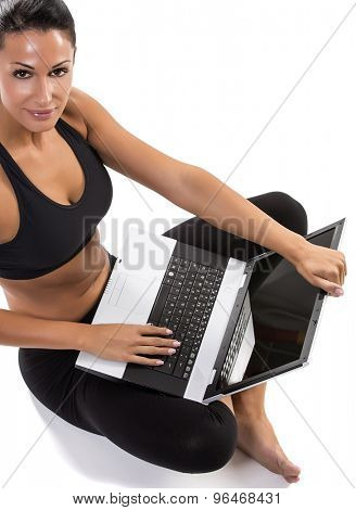Modern woman and sport
