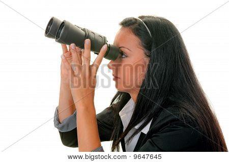 A Woman Seeking The Future
