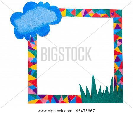 Colorful Paint  Frame