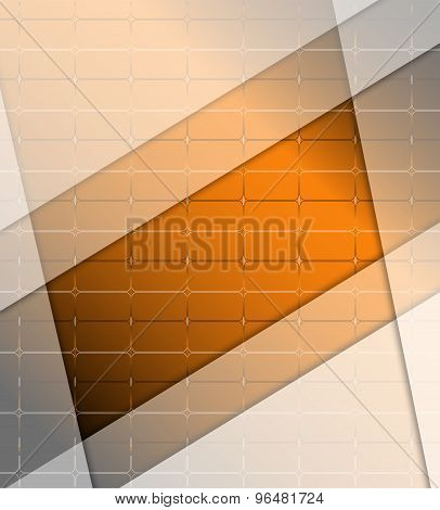 Abstract orange background design illustration template