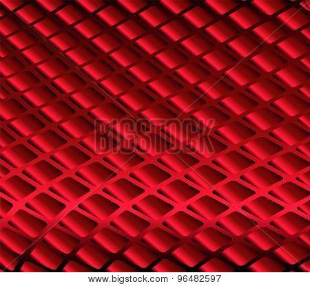 Grid red background- Grid strip pattern background