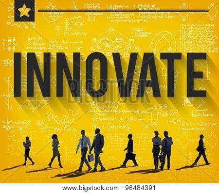Innovate Invention Innovation Development Vision Concept