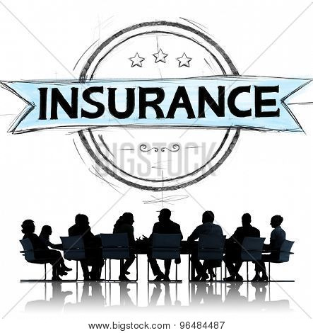 Insurance Benefits Protection Risk Security Service Concept
