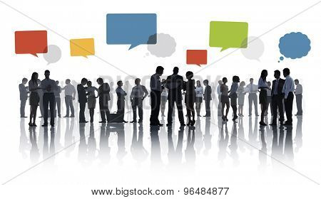 Business Collaboration Colleague Occupation Partnership Teamwork Concept