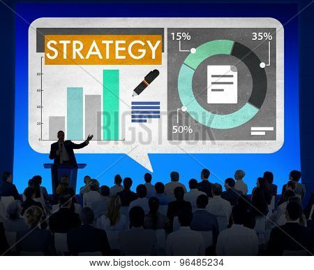 Business Strategy Planning Seminar Concept