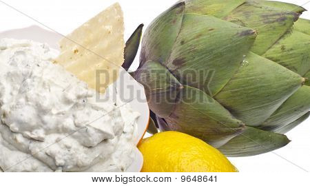 Parmesan Artichoke Dip